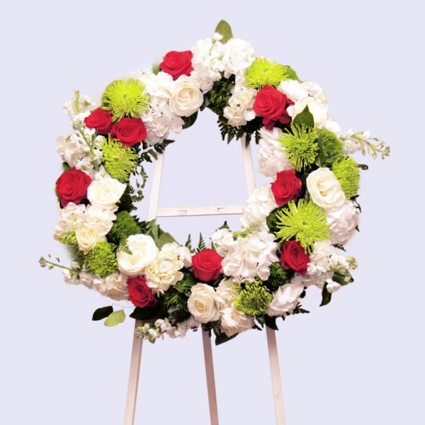 Timeless Beauty Collection-standing wreath
