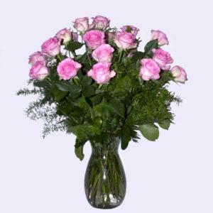 Elegance in Rose Collection - Vase