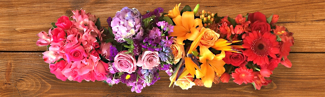 Gift Flowers Arrangements - Panoramic Image